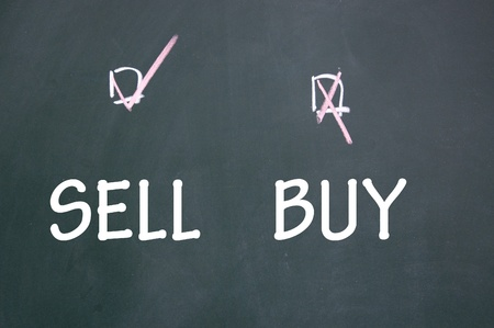 chose: sell or buy choice