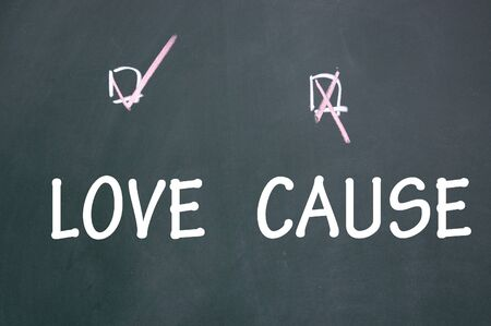 cause: love or cause choice