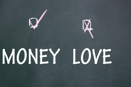 love or money choice photo