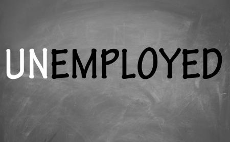 un employed symbol  photo
