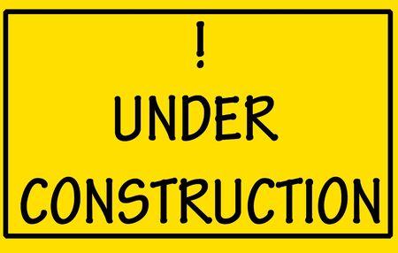 under construction symbol  photo