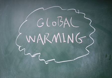 global warming symbol Stock Photo - 13835111