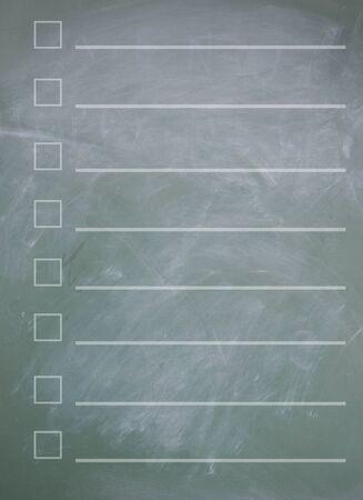 tabulation: Empty form