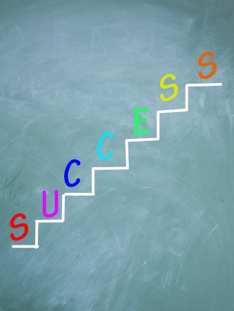 The ladder of success photo
