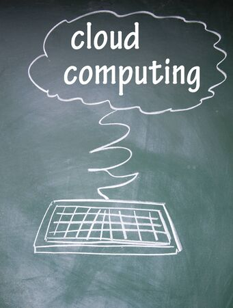 cloud computing symbol  photo