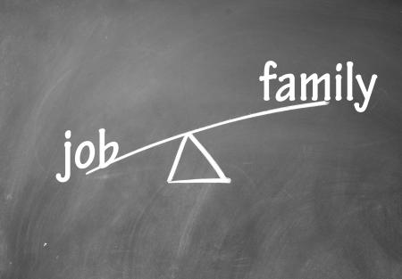 family and job choice photo