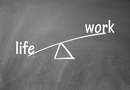 work and life choice Stock Photo - 13851669
