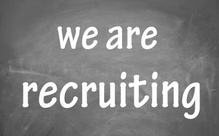 we are recruiting symbol Stock Photo - 13852985