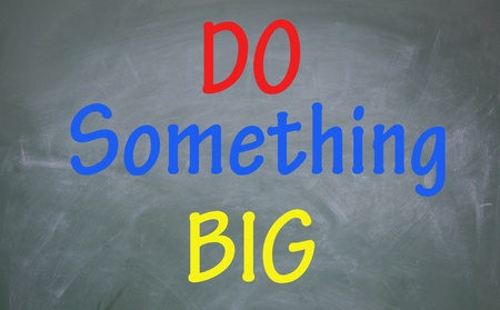 do something big symbol  photo