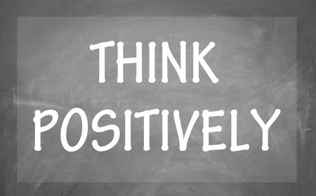 think positively symbol  photo