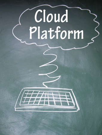 cloud platform symbol  photo