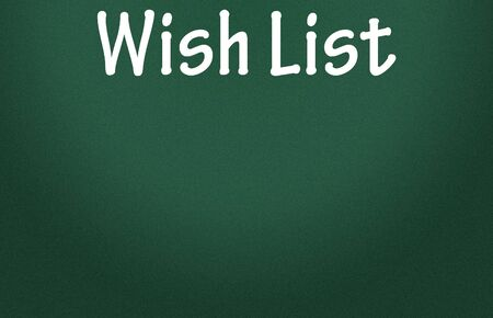 wish list symbol  photo