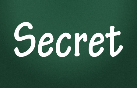 secret symbol Stock Photo - 13971203