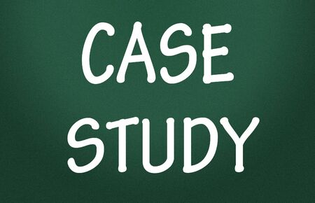 causation: case study symbol Stock Photo