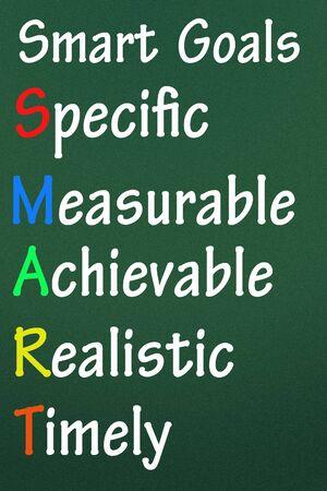performances: smart goals symbol