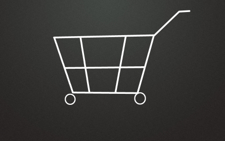 shopping cart symbol  photo