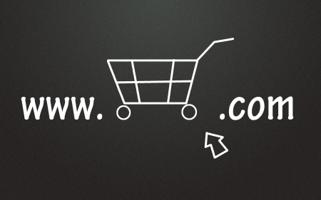 Online store symbol