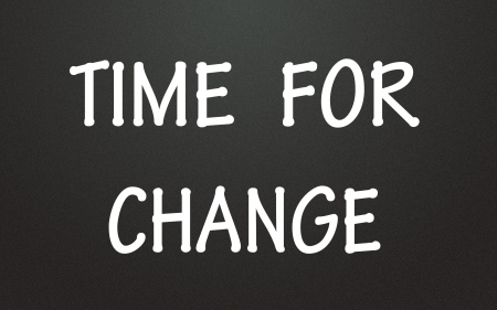 time for change symbol  photo