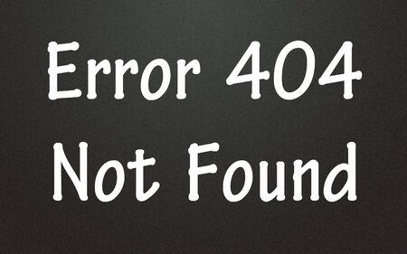 error 404 not found symbol Stock Photo - 14003815