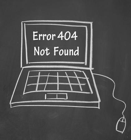 났습니다: 404 찾을 수 없습니다 기호 오류 스톡 사진