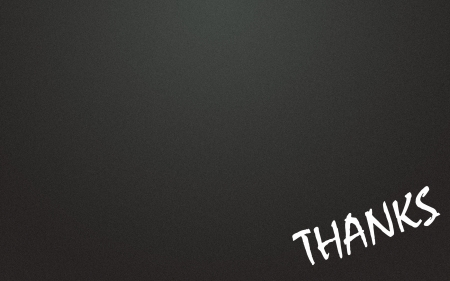 lacunae: thanks symbol and blackboard background