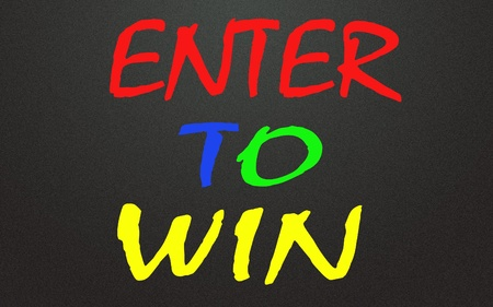enter to win symbol photo