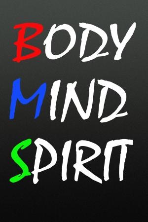 mind game: body mind spirit symbol  Stock Photo
