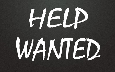 Help wanted title photo
