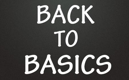 touchstone: back to basics title