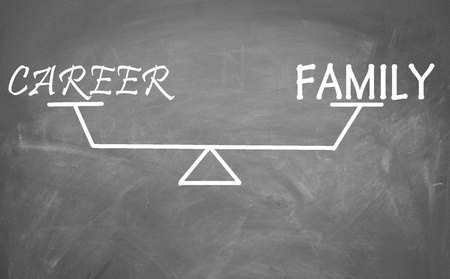 Balance of family and career  photo