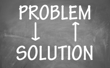 relation of problem and solution Stock Photo - 14224774