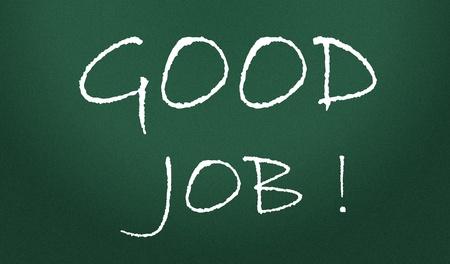good job: good job symbol  Stock Photo
