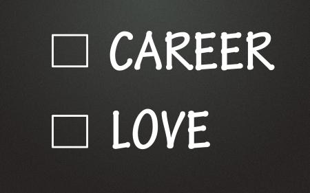 career and love choice photo
