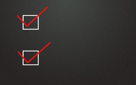 selection symbol  Stock Photo