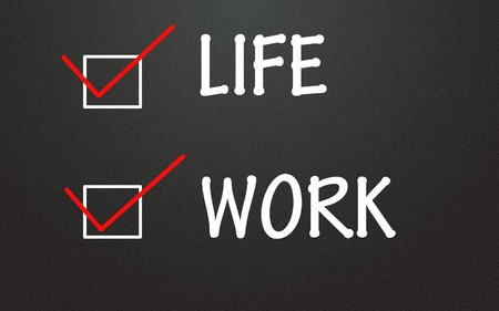 life and work choice Stock Photo - 14309110