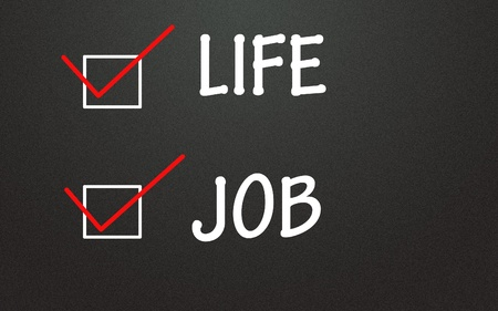 life and job choice Stock Photo - 14309111