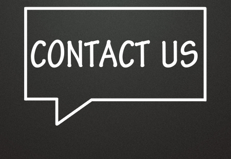contact us and chat symbol  Stock Photo