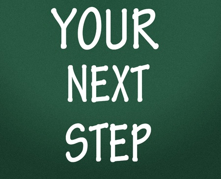 your next step symbol  photo