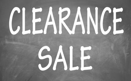 clearance sale symbol  photo