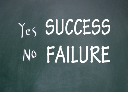 success and failure choice  photo