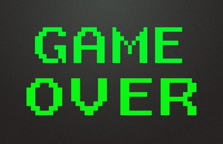 game over symbol  photo