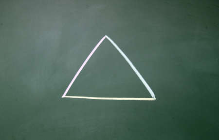Triangle symbol Stock Photo - 14380403