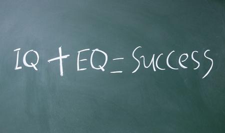 iq   eq = success  Stock Photo - 14380340