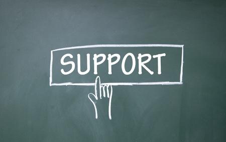 support symbol  photo