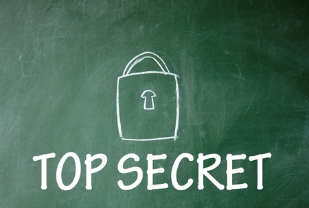 top secret symbol  Stock Photo - 14380511