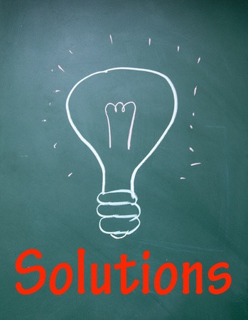 solutions symbol  Stock Photo - 14380475