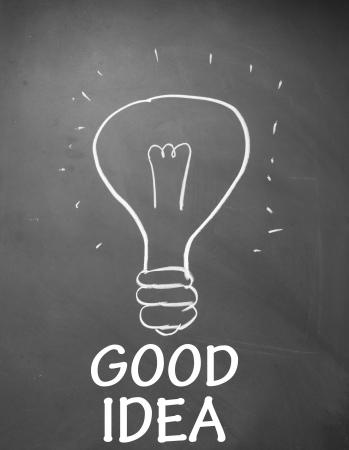 afflatus: good idea symbol