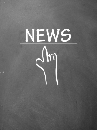 click news symbol Stock Photo - 14380505