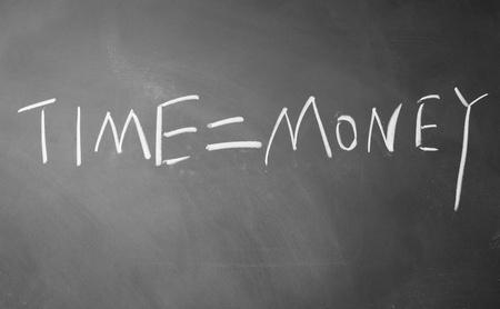 time = money symbol