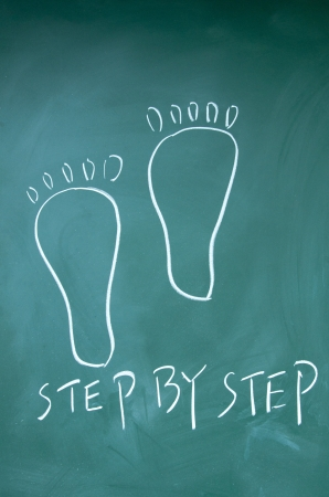 job opportunity: step by step symbol